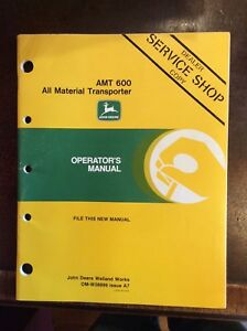 Lot Of 31 John Deere Operator s Manuals Gator loaders all Material Transporter