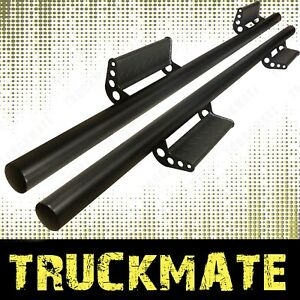 Drop Down Running Boards Side Steps Nurf Bars Fit 05 19 Toyota Tacoma Crew Cab