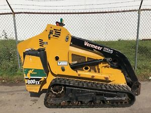 2014 Vermeer S800tx Mini Skid Steer