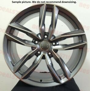 4 New 20 Wheels Rims For Audi S3 S4 S6 A3 A4 A6 Q3 Tt 37030