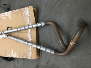 1963 67 Corvette Nos 327 Side Exhaust Pipes