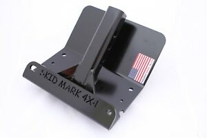Universal Hitch Skid Plate For Jeep Truck Suv Toyota By Skid Mark 4x4 Black