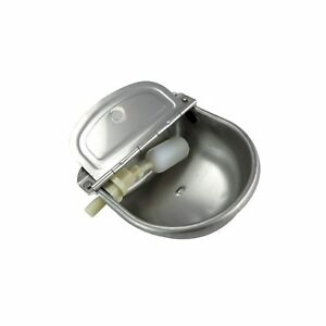 Stainless Steel Automatic Waterer Bowl Horse Cattle Goat Sheep Free Shipping
