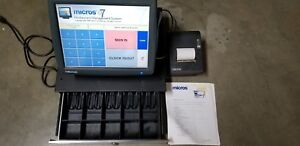 Micros E7 Ws5 Pos Workstation With Printer And Cash Drawer
