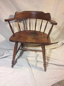 Chair Solid Oak Antique See12pix4size Details Local Pickup Only Liquidation