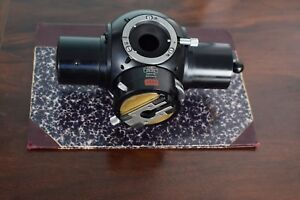 Carl Zeiss Photomicroscope I Tube Head Prism Optovar Beam Splitter Microscope