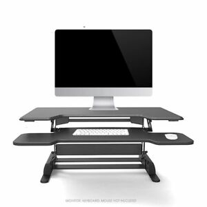 Laptop Keyboard Stand Desk Adjustable Workstation Computer Monitor Riser 36in