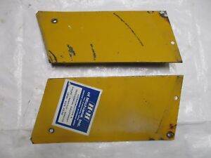 Farmall Ih Cub 154 Lo Boy Tractor Hood Side Panels