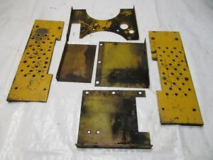 Farmall Ih Cub 154 Lo Boy Tractor Shields Foot Boards