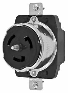 Hubbell Cs8369 Twist Locking Receptacle 50 amp 3 Phase 250v 3 Pole 4 Wire