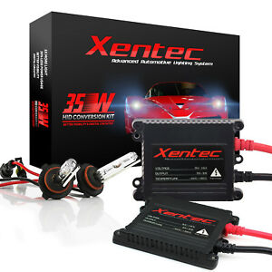Xentec Xenon Hid Light Kit 35w 55w Slim H4 H7 H10 H11 H13 9004 9005 9006 9007 H1
