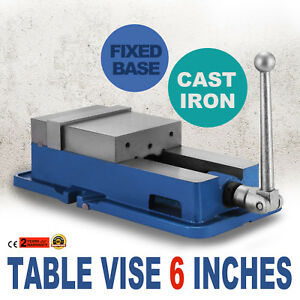 6inch Vise Precision Milling Drilling Machine Bench Clamp W Lock Vice Unit