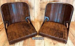 Winter Special Iron Ace 17 Rat Rod Bomber Seat S W Cushion Set