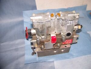 Schrader Bellows Pneumatic Double Solenoid Valve With Base