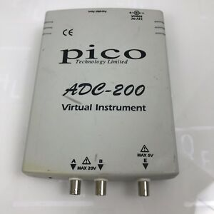 Pico Adc 200 Virtual Instrument Scope parallel Port