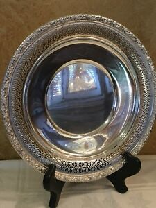Alvin Sterling Silver Tray S135