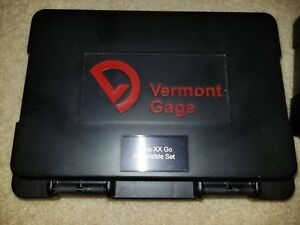 New Vermont Gage Pin Class Xx 1 020 To 1 040mm 0 002mm Increments