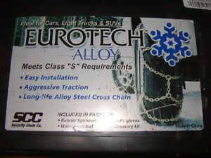 Snow Tire Chains Security Ea1614 Alloy 255 50 18 255 55 16 255 55 17 245 65 15