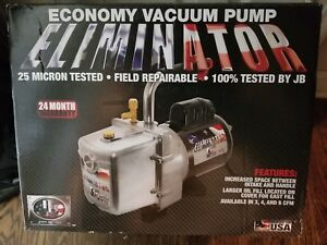 Jb Industries Dv 6e Evacuation Pump 6 0 Cfm 1 2 Hp New In The Box