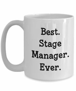 Stage Manager Travel Mug Best Stage Manager Ever Funny Tea Hot Cocoa... $14.95