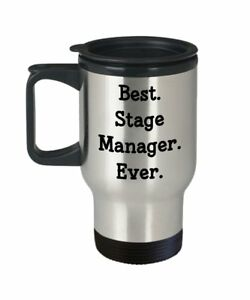 Stage Manager Travel Mug Best Stage Manager Ever Funny Tea Hot Cocoa... $17.95