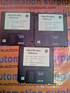 Allen bradley Advanced Prog Software 1747 pa2e Series G Release 5 01 Software