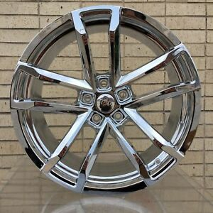 4 New 20 Chrome Rims Wheels For 2016 2017 2018 Chevrolet Chevy Zl1 Camaro 45010