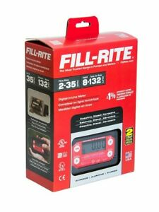 Fill rite Tt10an 2 35 Gpm Inline Digital Turbine Fuel Meter tt10an npt