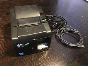 Star Micronics Tsp100ii Eco Futureprnt Point Of Sale Usb Thermal Printer Square
