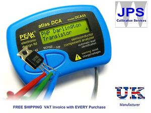 Atlas Dca Semiconductor Test Tester Analyser Peak Dca55 Jpst006 Vat Invoice