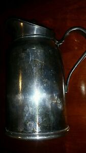 Antique Reed Barton Silver Soldered Jug Pitcher 300 2 P Free Shipping