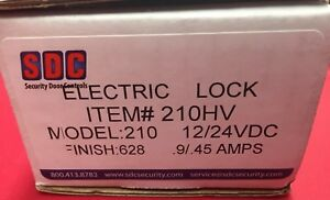 210 Sdc Electric Bolt Lock Mortise Failsecure Less Auto relock Switch 628 9 45