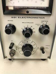 Keithley Instruments 621 Solid State Analog Electrometer As Is Parts Or Repair