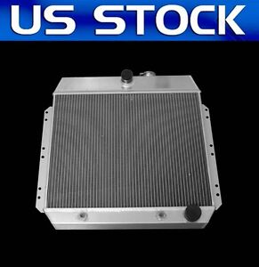 New 3 Rows Aluminum Radiator 49 50 51 52 53 54 Chevy Car Sedan