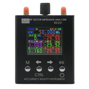 N2201ss 137 5m 2 7ghz Antenna Analyzer Meter Tester Radio Uv Rf Vector Impedance