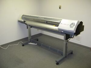 Roland Versacamm Vp 540 Large Format Sign Printer