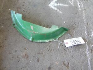 John Deere 2 Cyl Pony Motor Clutch Inspection Cover Tag 2950