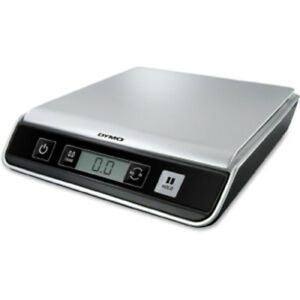 Dymo Digital Usb Postal Scale Black Compact Design Connect Via Usb Cable To Pc