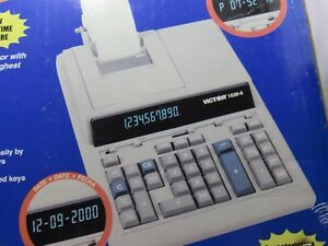 Sale Victor Professional Heavy Duty Printing Calculator Model No 1530 5