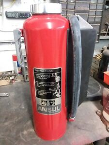 20lb Ansul Cartridge Type Bc Fire Extinguisher