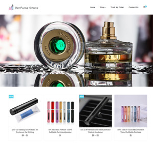 Established Perfume Turnkey Website Business For Sale Profitable Dropshipping