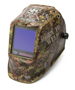 Lincoln Viking 3350 Born To Weld Welding Helmet K3616 3