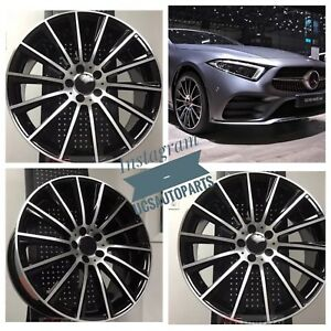 New 18 Amg Wheels Rims Fits Mercedes Benz C43 S Class Set Of 4