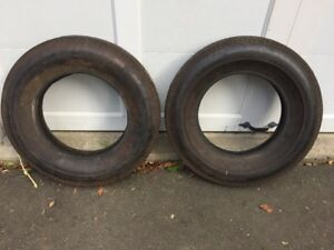 6 50 15 Nos Tires 2 Rat Rod Super Stock