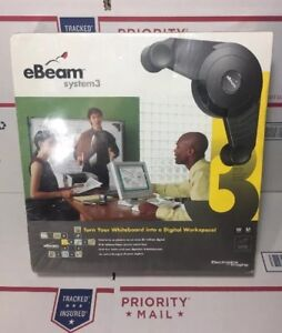 Sealed New Ebeam System 3 Turn Your Whiteboard Into A Digital Workspace
