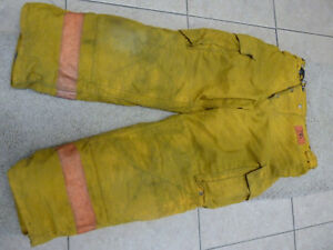 Morning Pride Firefighter Turnout Pants 36 X 29 Halloween Costume