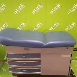 Midmark Ritter 304 Examination Exam Table W Stirrups Medical
