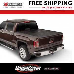 Undercover Flex Tonneau Hard Fold Cover Fit 14 18 Chevy Silverado 1500 6 5 Bed