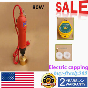 Handheld Electric Bottle Capping Machine Screw Capper Sealing 110v 1 30mm Usa
