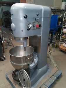 Hobart 80 Qt M802 Mixer Single Phase 3 Hp Stainless Bowl Tools